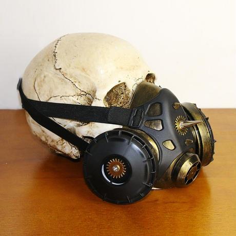 スチームパンク風ガスマスク