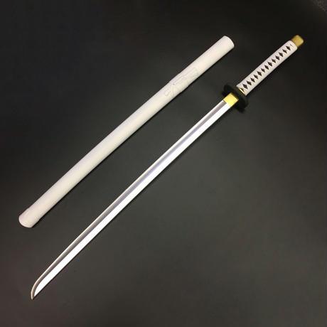 【超軽量】日本刀 白 鞘付き オリジナル創作素材 PU製品