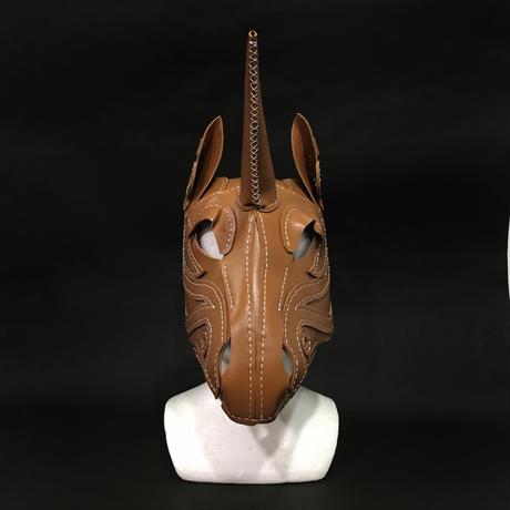 『一角獣の革製仮面』