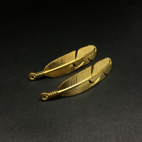 『金羽』金属素材 ペアセット 45mm x 9mm