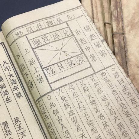『陽宅八卦(ようたくはっけ)』生人住居風水書5巻