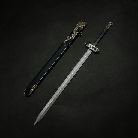 『随便剣』6:1スケール金属製模型