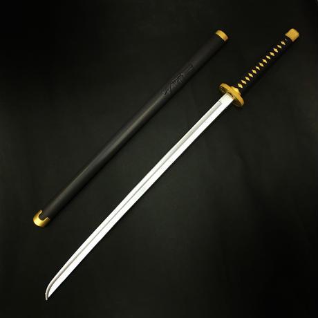 『黒橡』超軽量 コスプレ用 鞘付き日本刀(くろつるばみ)