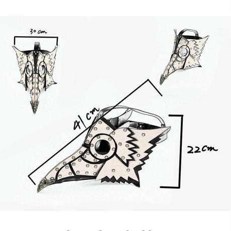 梟のペストマスク