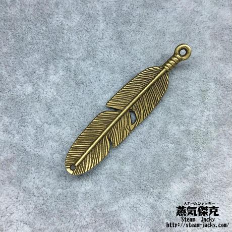 『銅羽』金属素材 ペアセット