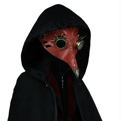 紅のペストマスク