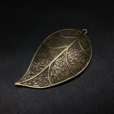 『大きな葉』金属素材