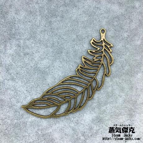 『透かし彫り羽』金属素材 ペアセット 商品番号W-0053
