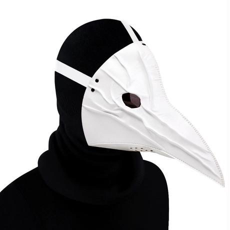 【ホワイト】目つきの悪いペスト防護マスク