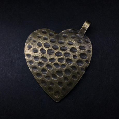 『歯車の心』金属素材 横約3.7cm