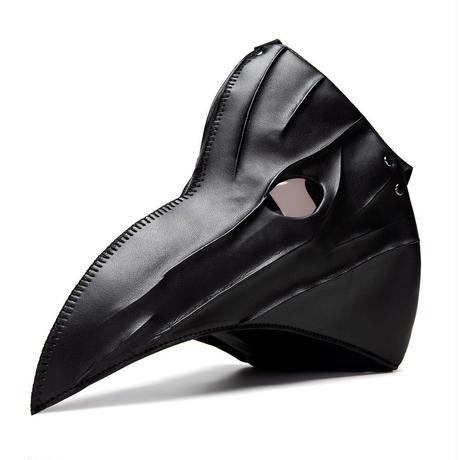 【ブラック】目つきの悪いペスト防護マスク
