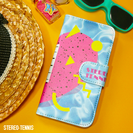 iPhone case book type<TROPICAL HEART!>