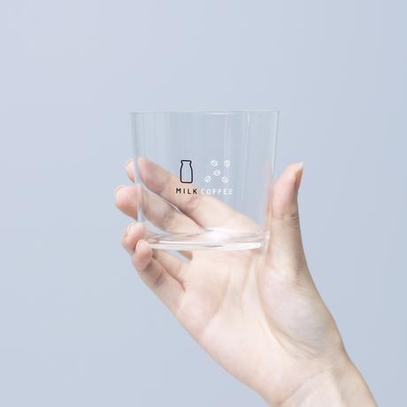 【6月中旬〜下旬発送予定】珈琲牛乳のグラスB(薄口グラス)