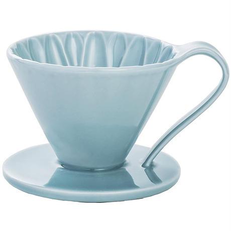 三洋産業 CAFEC フラワードリッパー cup1 1杯用 有田焼 メジャースプーン付き