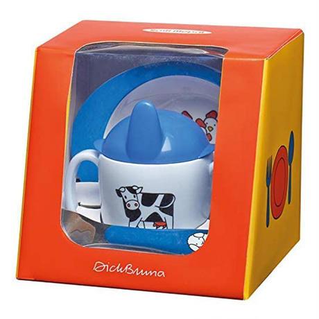 Rosti Mepal ロスティメパル DICK BRUNA 3pcs BABY SET ブルーナ 3ピース ベイビーセット ベビー Dick Bruna ディック・ブルーナ ミッフィー 食器 ギフト