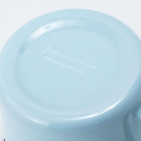 アクシス スワンキャニスター 琺瑯 ホーロー キッチン 保存容器 ブルー AXCIS