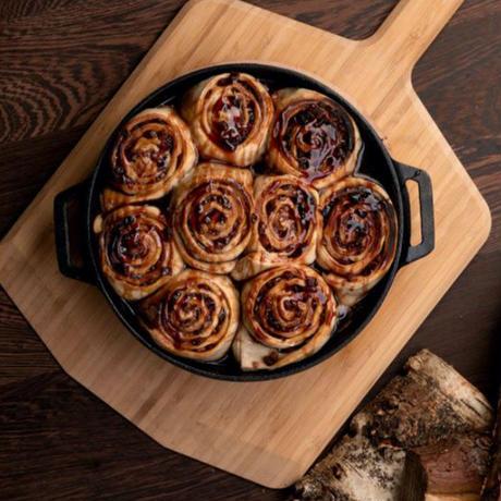 Ooni キャストアイアンスキレットパン 鋳鉄製 ピザ窯 オーブン 直火 コンロ 家庭用 アウトドア BBQ