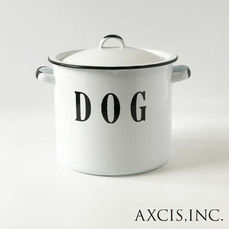 アクシス ドッグポット TE038 ホーロー保存容器 Dogpot