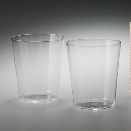 うすはり オールドM 木箱2P 松徳硝子 手作りガラス器