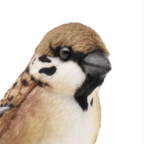 HANSA ハンサ スズメ 鳥 7019 リアル ぬいぐるみ