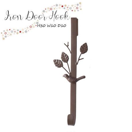 彩か(Saika)Door Hook バード on Tree CIE-376 アンティーク レトロ ドアフック インテリア