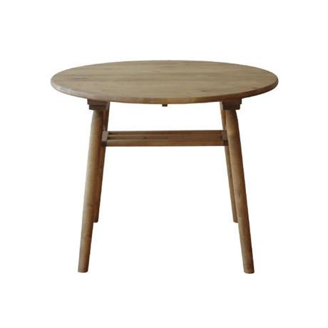 nora.ノラ logie (ロジー) 円形ダイニングテーブル 90 丸 円卓 and gシリーズ 北欧 ナチュラル 関家具