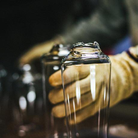 うすはり タンブラーL&柿ピー小鉢セット 松徳硝子 手作りガラス器