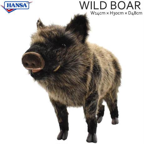HANSA ハンサ イノシシ 4092 リアル ぬいぐるみ 動物 愛らしい プレゼント アニマル