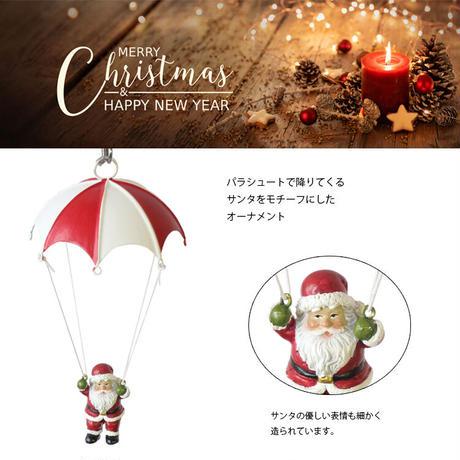 彩か(Saika)Parachute Santa Landing CTP-X292 オーナメント サンタクロース クリスマス 飾り インテリア