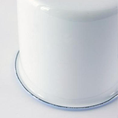 Homestead ホーロー マグカップ ホワイト HS163 アンティーク仕上げ 缶 琺瑯 AXCIS