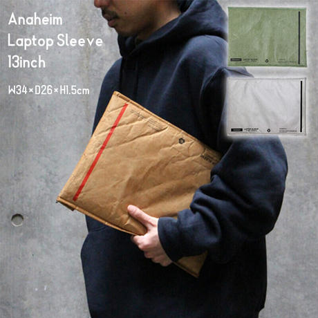 Anaheim Laptop Sleeve 13inch アナハイムラップトップスリーブ タイペック エンベロープ型 タブレット ノートパソコン 収納ケース クラフト紙