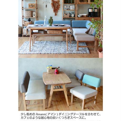 nora.ノラ Mele sofa(メレ)ソファ 二人掛け 幅125cm and g アンジー 関家具 2色展開