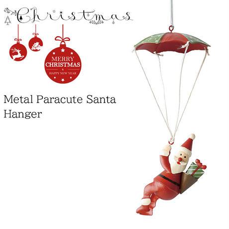 彩か(Saika)Metal Paracute Santa Hanger CXM-74 オーナメント サンタクロース クリスマス 飾り インテリア