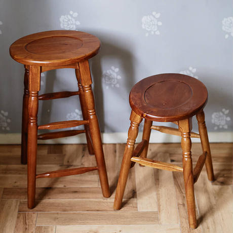 Oval ハイスツール M 天然木 ミンディ材 椅子 オーバルスツール 腰掛け 天然木 ナチュラル シンプル J-GT784BR