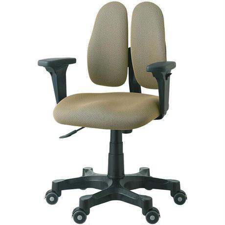 DUOREST デュオレスト オフィスチェア 可動肘 背もたれ 上下左右調節 ブラウン DR-250SP 1ABN1 腰痛対策 姿勢サポート 体圧分散