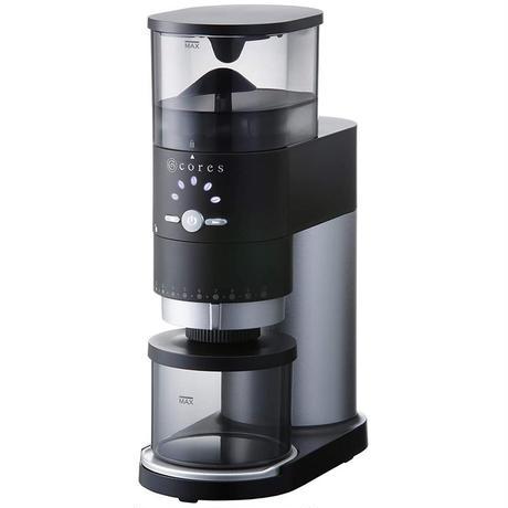 cores コレス コーングラインダー COFFEE GRINDER シルバー C330 電動ミル コーヒーミル コーン式