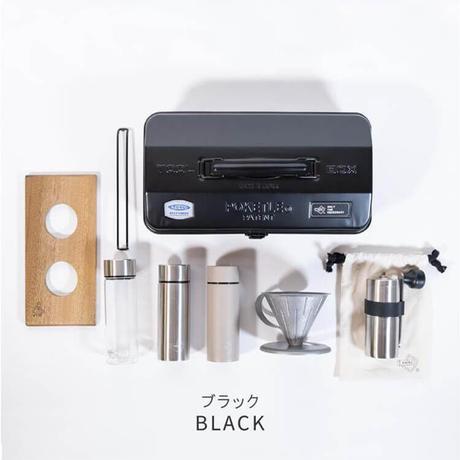 POKETLE×東洋スチール POKETLE COFFEE KIT ポケトル コーヒー キット 2colors コーヒースターターキット ミニボトル コーヒーミル ドリッパー 新潟 燕三条