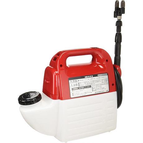 セフティー3 ハイパワー 電池式噴霧器 5L ホース1.7m ノズル40~90cm 1頭2頭切替 SSD-5H
