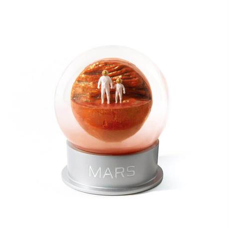 Humango マーズダストグローブ MARS Dust Globe インテリア 置物 オブジェ スノードーム 火星 宇宙 プレゼント ギフト