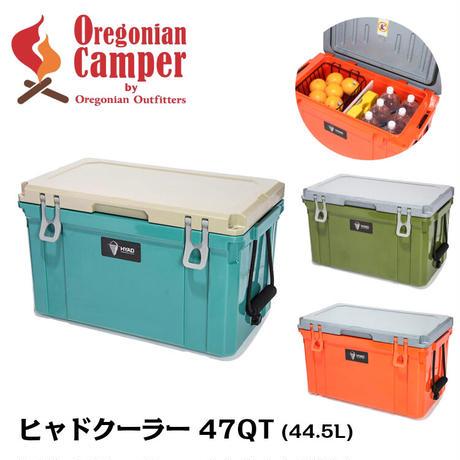 Oregonian Camper ヒャド クーラーボックス 47QT 45.5リットル 3色展開 オレゴニアンキャンパー HDC2047