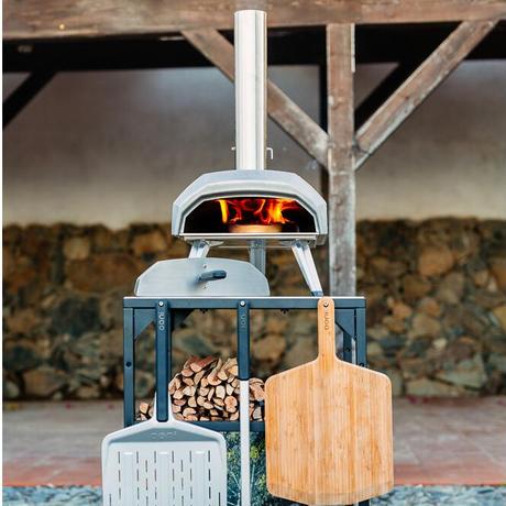 Ooni Karu ウニ カル ポータブル ピザ窯 オーブン 炭 薪 正規輸入品 家庭用 アウトドア BBQ