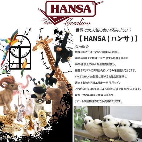 HANSA ハンサ カワウソ 3814 リアル ぬいぐるみ 動物 愛らしい プレゼント アニマル