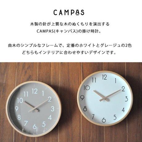 Creer クレエ ウォールクロック L CAMPAS ウォール クロック 掛け時計 木製