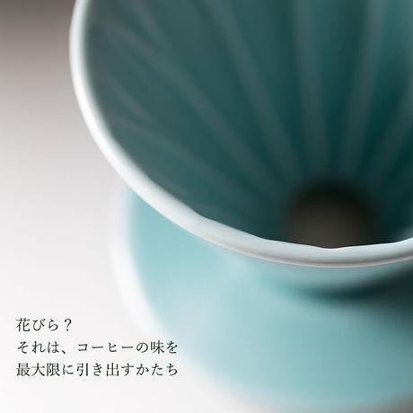 三洋産業 CAFEC フラワードリッパー cup4 2~4杯用 有田焼 メジャースプーン付き CFD-4PI