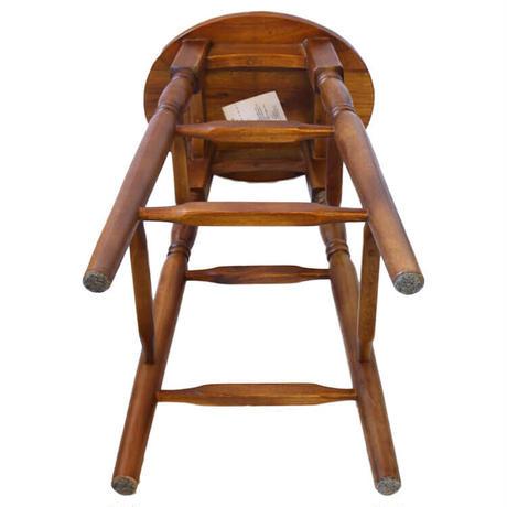 Oval ハイスツール L 天然木 ミンディ材 椅子 オーバルスツール 腰掛け 天然木 ナチュラル シンプル J-GT785BR