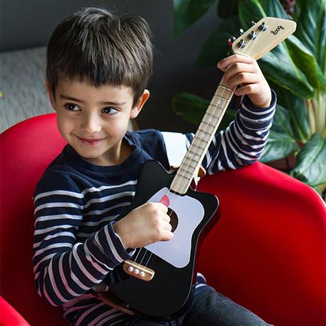 ルーグ・ミニ(レッド)Loogギター 本格的な演奏が楽しめるギター