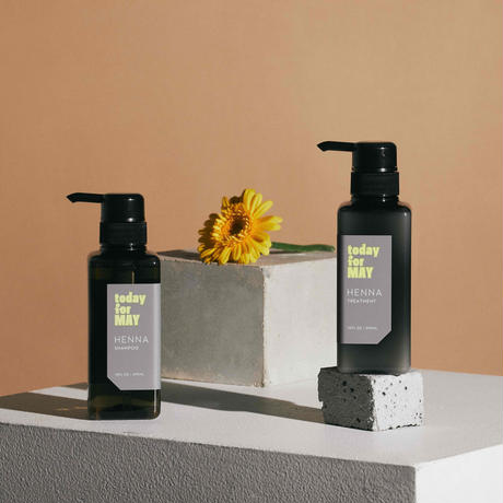 【today for MAY】henna - shampoo & treatment -