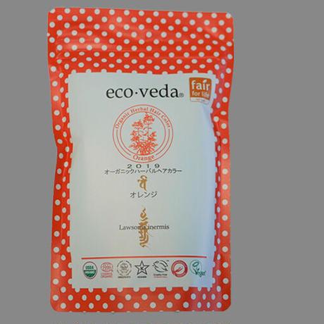 2019 eco・veda ヘナカラー - Orange -