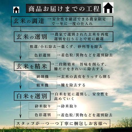 令和2年新潟県産コシヒカリ白米6kg (2kg ×3個パック)