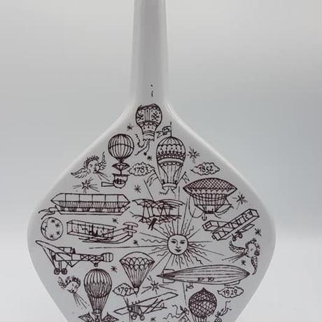 1960's Anton Riemerschmid デザイン アビエイションモチーフ ベース /WK047B